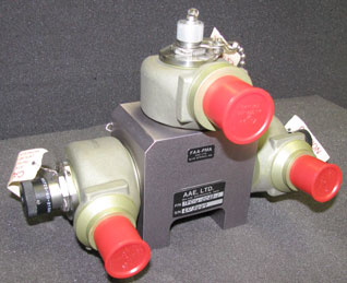 Aircraft Fire Protection System Diverter Valve from AAE Ltd