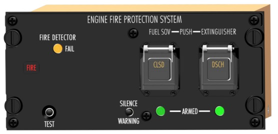 Aircraft Engine FPS Control Panel from AAE Ltd