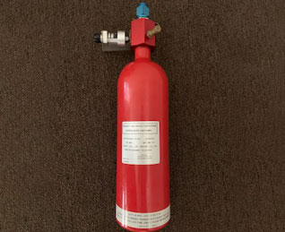 Aircraft Fire Extinguisher Bottle Assembly from AAE Ltd.
