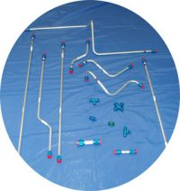 Aircraft Fire Protection System Suppression Distribution Tubing Assemblies from Advanced Aircraft Extinguishers Ltd